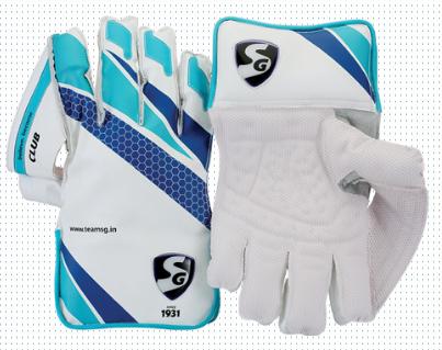 SG Club Cricket Wicket Keeping Gloves 2019