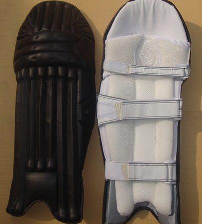 Black Unbranded Cricket Batting Pads