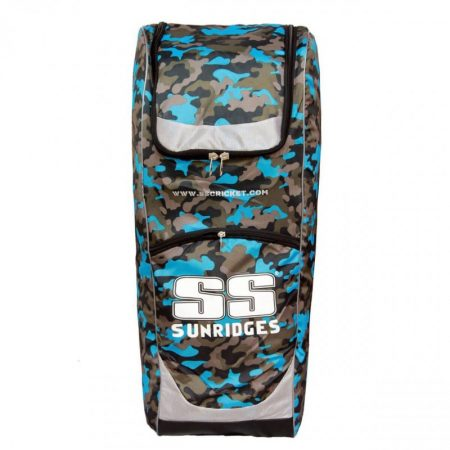 SS Premier DUFFLE Camo Ziptop Cricket Kit Bag